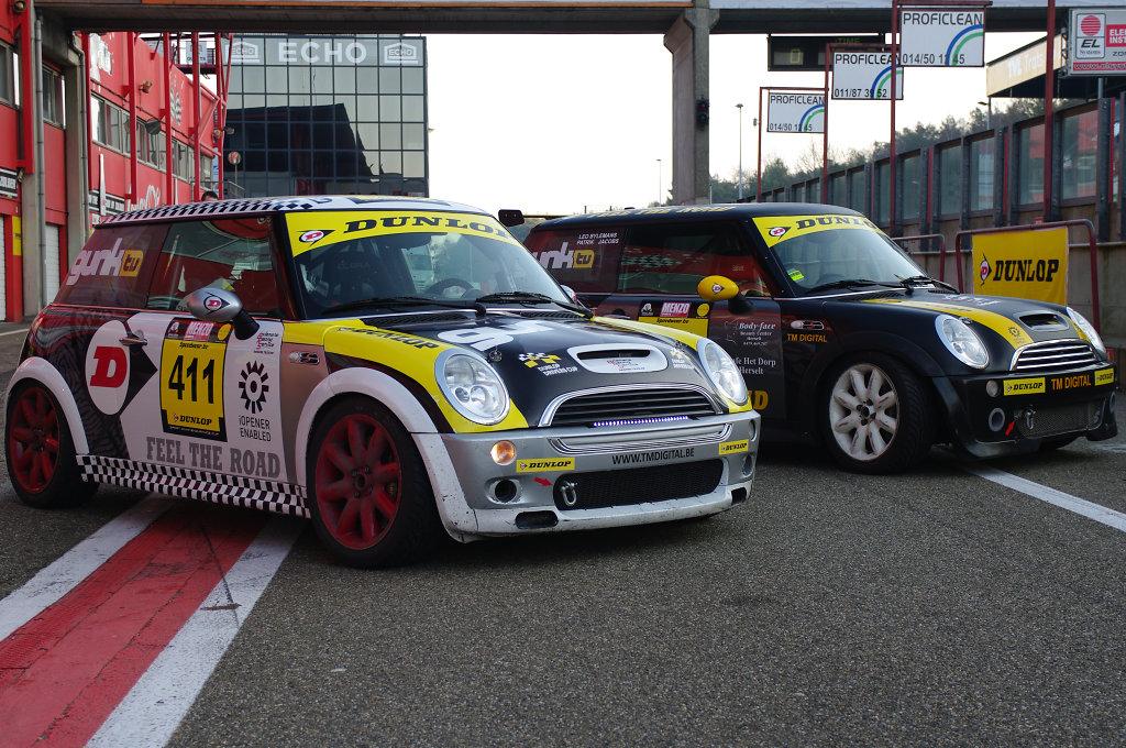 Minis at Racetrack Zolder, Belgium
