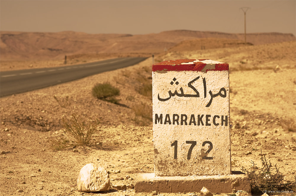 Road to Marrakesch, Marokko 2013